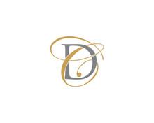 DC CD Letter Logo Icon 002