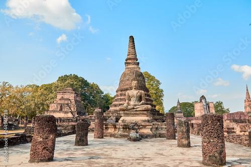 Fotografie, Obraz  Sukhothai Historical Park, Sukhothai, Old Town, historic, civilization, history,