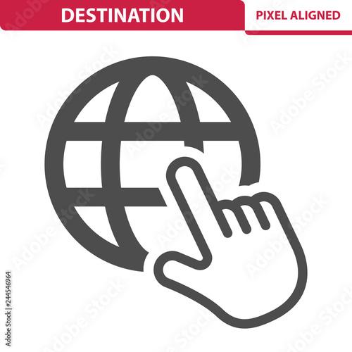Foto  Destination Icon