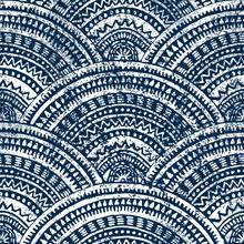 Japanese Seigaiha Wave Pattern...