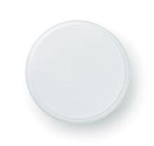 Top View Of Blank Cosmetics Jar