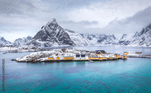 Sakrisoy, Lofoten Islands, Norway