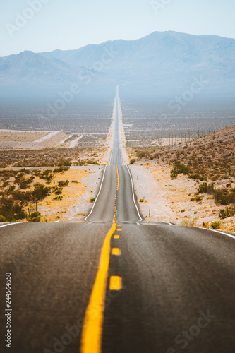 Foto op Canvas Route 66 Classic highway scene in the American West