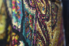 Colorful Paisley Abstract Back...