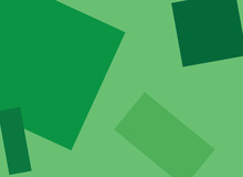 Background-Abstract Green Squares