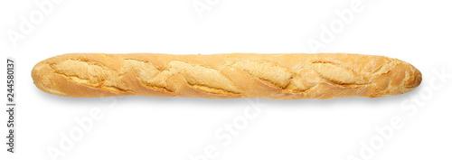 Fototapeta baguette on white obraz