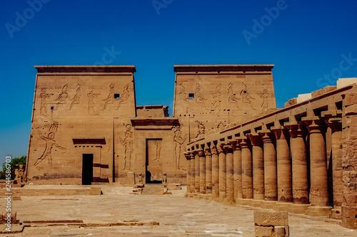 Fotografia, Obraz  abu simbel temple in Egypt.