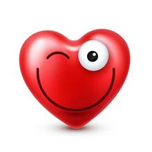 Heart Smiley Emoji Vector For ...