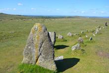 Stone Row, Merrivale Prehistor...