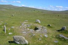 Stone Circle Within Double Row...