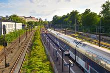 Train Arriving To Station, Copenhagen