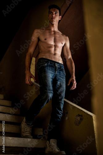 Fotografie, Obraz  He's Proud Of His Body