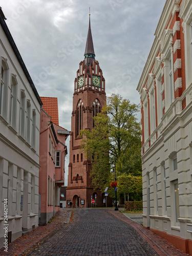 Fotografía  Ville de Jever, Frise,  Basse-Saxe, Allemagne