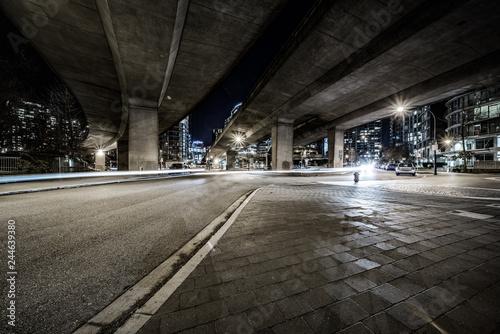 Photo empty street