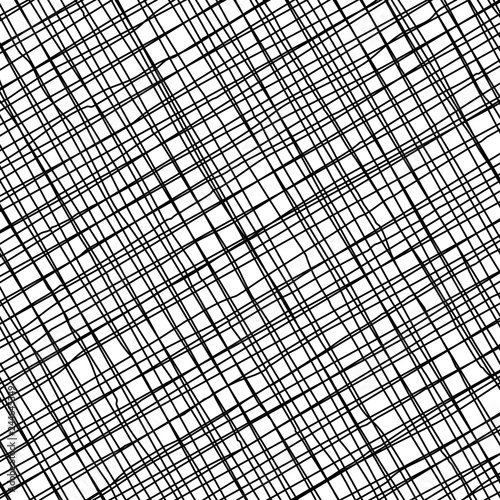 Staande foto Industrial geb. pattern with intersected black oblique lines