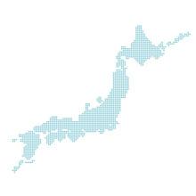 日本地図 日本 イラスト ベクター