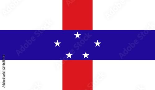 Photo Netherlands Antilles Flag