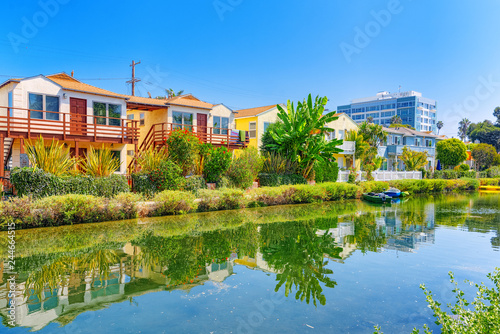 Keuken foto achterwand Verenigde Staten One of the most beautiful district of Los Angeles - is Venice. California