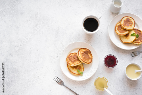 Fotografie, Obraz  Pancakes for breakfast