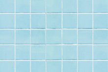 Blue Square Tiled Texture Back...