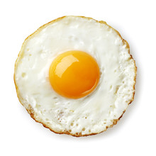 Fried Egg Isolated
