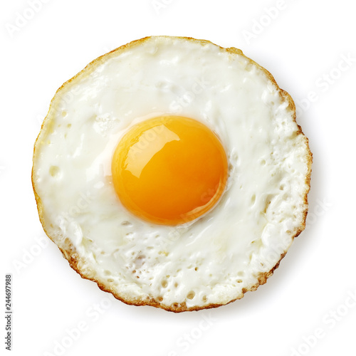 Slika na platnu fried egg isolated