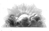 Fototapeta Nowy Jork - Sun and cloud
