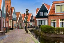 Traditional Volendam Houses
