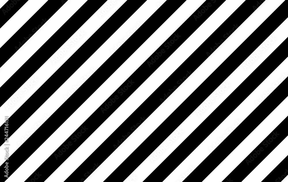 Fototapeta Illustration of black and white stripes, used for backgrounds. -EPS-10.