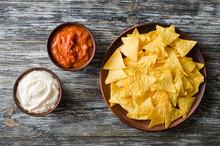 Nachos Corn Chips With Spicy T...