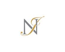 NJ JN Letter Logo Icon 002
