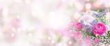 Fototapeta Kwiaty - Still life with delicate roses