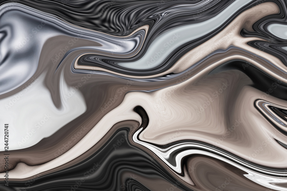 Fototapety, obrazy: Abstract  art of beautiful paint of marble for texture background and design,Colorful and fancy colored