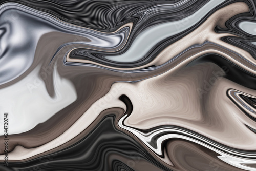 Photo sur Toile Metal Abstract art of beautiful paint of marble for texture background and design,Colorful and fancy colored