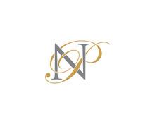 NP PN Letter Logo Icon 002