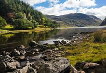 Picturesque Loch Killin, Scottish Highlands, UK
