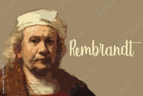 Wielcy malarze - Rembrandt Harmenszoon van Rijn