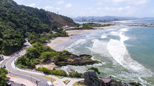 Praia Do Atalaia Em Itajaí, S...