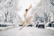 Beautiful Ballerina Is Dancing...