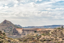 Wall Of The Vanderkloof Dam In...