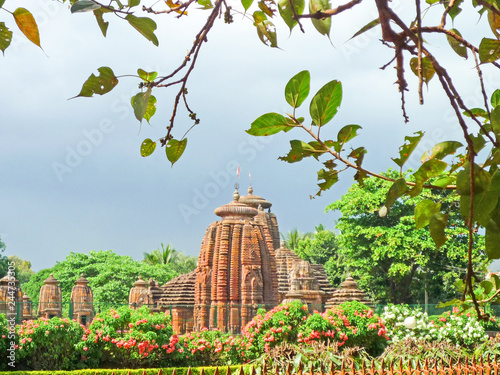 Obraz na plátně Mukteshvara Temple at Bhubaneswa, Odisha, Inda.