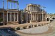 メリダのローマ劇場(スペイン・メリダ)