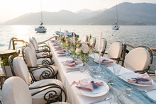 Beautifully Decorated Table Wi...