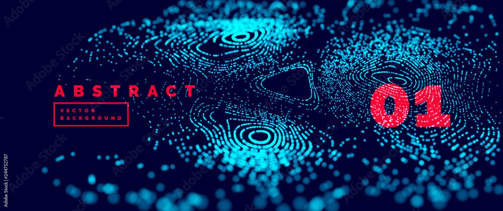 Fototapeta Arrière plan abstrait vectoriel 14