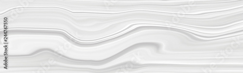 Fototapety, obrazy: The background is white with a marble pattern with wavy eels. Panorama of a beautiful light template for creative projects.