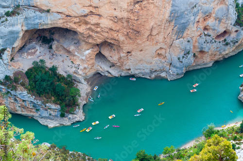 Fototapeta The Verdon Canyon