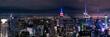 Panoramica de la ciudad de Nueva York - Manhattan