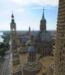 The Rooftops of Basilica de Nuestra Señora de Pilar
