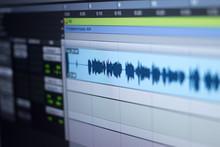 Recording Studio Audio Controls