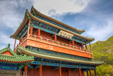 Chinese architecture in the Great Wall - 244806949